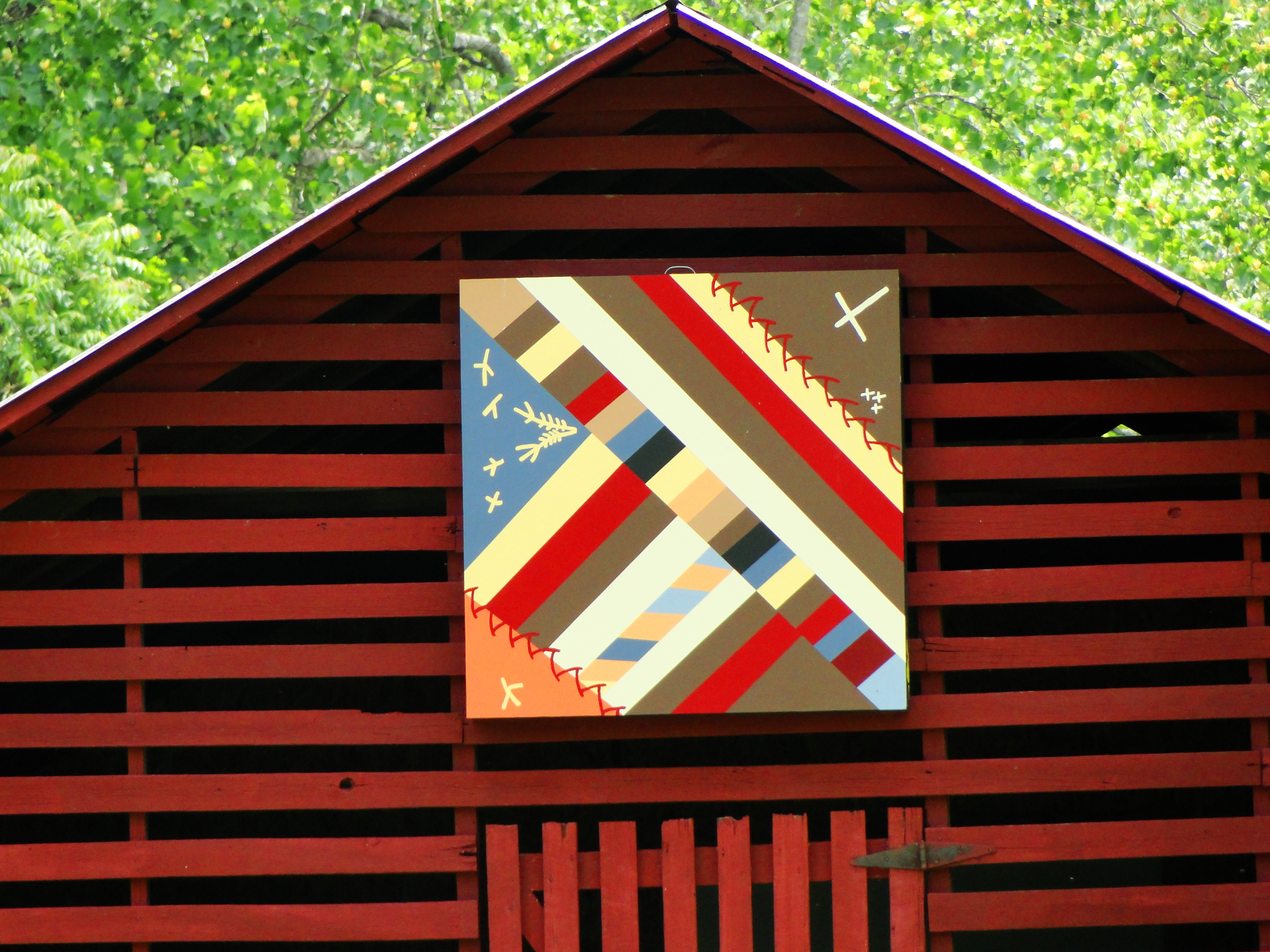 Historic Carson House Barn Quilt