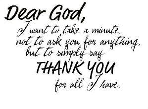 Dear God…